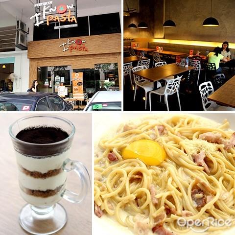 意大利面, i know pasta, spaghetti, setapak, jalan genting klang, pv128