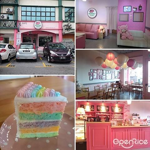 Flying Teapot Cafe, Serdang, Seri Kembangan, Waffle, Vegetarian Cafe, Pink Theme cafe, Teapots, Themed Cafe in Klang Valley